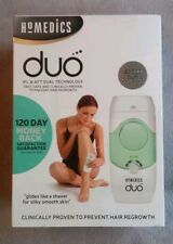 Homedics DUO IPL & AFT Hair Remover 50,000 Pulses Face Body Bikini