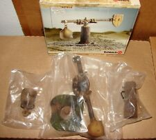 New Schleich Quintain #42015 -BOX HAS BEEN OPENED ITEMS IN FACTORY SEALED BAGS