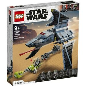 LEGO Clone Wars The Bad Batch Attack Shuttle 75314