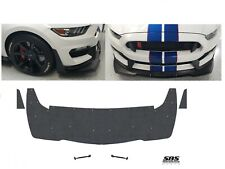 FRONT SPLITTER + winglets & 2 Support rods 2015-2020 MUSTANG SHELBY GT350Rs