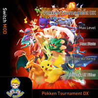 Pokken Tournament DX (Switch Mod)- Max Level/Stats/Items/Titles
