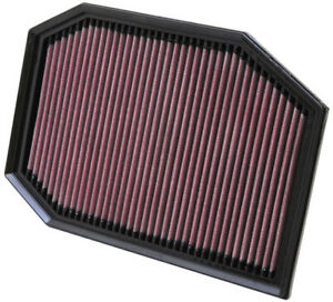 K&N Replacement Air Filter for BMW 528i, 528i xDrive, 530i / 33-2970
