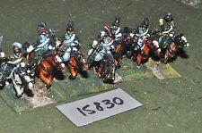 25 MM/Francese Napoleonico-Lancieri Cavalleria 6 DIPINTO DA MAC Warren-CAV (15830)