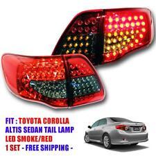 For Toyota Corolla Gen3 Altis Anzo 2008 09 10 2011 Smoke Tail Lamp Led Rear Lamp