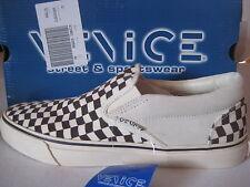 VENICE Schuhe Leinenschuhe Sneaker SlipOn Slipper Checkerboard 40 NEU