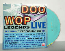 Doo Wop Legends Live DVD NEW PBS Rhino Time-Life  21 Concert Performances SEALED