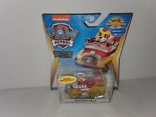 Paw Patrol True Metal Marshall Mighty Pups Super Paws Rare Translucent Wheels.