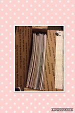 Huge Medium Flat Rate Box Full Of Scrapbook Papers
