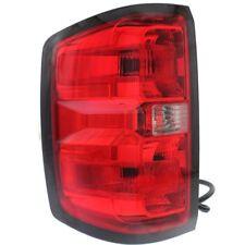 LEFT Driver Side Tail Light FITS 2014-2015 Chevy Silverado 1500 LT w/ Bulb(s)