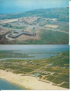 2 Montauk Manor Montauk NY Long Island 1960's Chrome Postcards