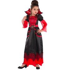 New Vampire Queen Costume Girls Large 12-14