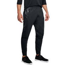 Under Armour Hommes Swacket Pantalon De Survêtement Jogging Noir Sport Gym
