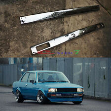 Toyota Corolla KE70 Front And Rear Bumper Chrome KE72 KE75 GL DX 1973-1983 E70