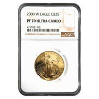 2000 W 1/2 oz $25 Proof Gold American Eagle NGC PF 70 UCAM