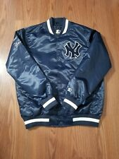 NWT New York Yankees STARTER black label Jacket size large