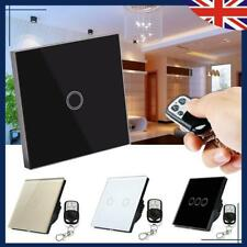 Kinetic Wall Light Touch Switch Remote Digital Remote Wireless Control 1-3 Gang