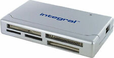Integral Incrmulti Multi 17 in 1 Usb Digital Memory Card Reader Adaptor - Silver