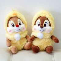 New Disney  Easter Chip and Dale with chick outset Plush Toy 2PCS Gift