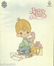 19 Precious Moments Cross Stitch Pattern Dear Jon 1982 Jesus Grandpas