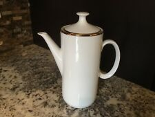 China Replacements - Coffee Pot & Lid White by Germer Porcelanas Brazil no Chips