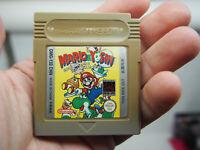 Mario And Yoshi Original Nintendo Gameboy Game Region Free Japan Imported