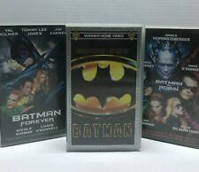 BATMAN VHS COLECCION PELICULAS VHS ESPAÑOL LOTE ENVÍO 24 HORAS GRATIS