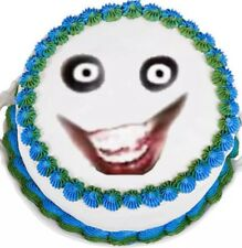 Jeff The Killer Face Edible Image cake Topper Fast shipping!!!!