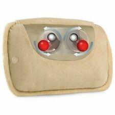 New HoMedics Therapist Select Rotating Massage Shiatsu Pillow W/Heat SP-10H