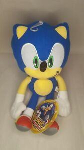 Sonic the Hedgehog 12 Inch Plush Doll Stuffed Animal Toy Authentic SEGA NWT!