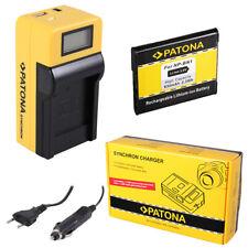 Batteria Patona + caricabatteria Synchron LCD USB per Sony DSC-TX55,DSC-TX66