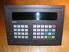 Siemens 6AV3520-1EL00 OP20/240-8 Operator Panel with CP5480 SINEC L2 interface