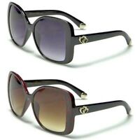 New Romance Womens Ladies Girls Oversized Designer Vintage UV400 Sunglasses OL15