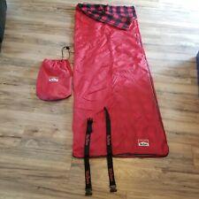 Vintage 90's Marlboro Unlimited Red Sleeping Bag Camping Adventure 27X72