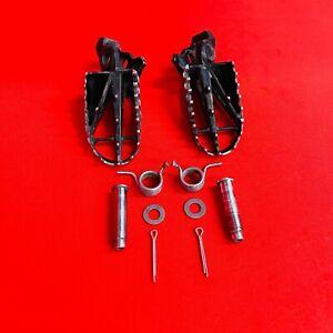 CRF450R FOOT PEGS RESTS KIT COMPLETE FACTORY GENUINE OEM HONDA CRF 250 450 R X