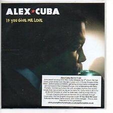 (AP804) Alex Cuba, If You Give Me Love - DJ CD