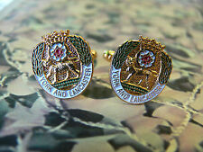York And Lancaster Regiment Cuff Links Lancs