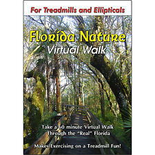 FLORIDA NATURE WALK TREADMILL DVD - SCENERY VIDEO EXERCISE FITNESS WEIGHT LOSS