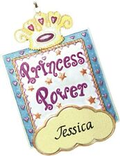 PERSONALIZED PRINCESS POWER ORNAMENT AND MAGNET - JEANE'S THINGS