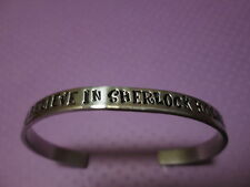 """ I believe in Sherlock Holmes""...Bracelet… Sherlock inspired"