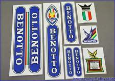 Restoration Decals Kit for BENOTTO Bicycle Rare + FREE Gift Stickers