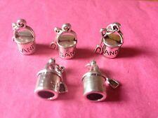 Tibetan Silver 3d Secchio E Spade Charms - 5 Per Confezione-Vacanze/MARE Temi