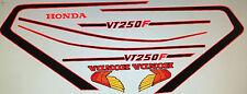 HONDA VT250F RESTORATION DECAL SET