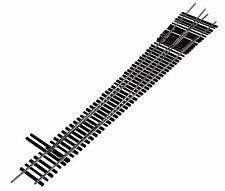 Oscale Turnouts, Inc. #8 Left Hand Turnout, 2-Rail, Code 148,  Mounted on Ties