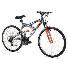"Northwoods Z265 26"" Men's Dual Suspension 21 Speed Lightweight Mountain Bike"