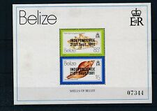 [319279] Belize 1981 shells good very fine MNH sheet