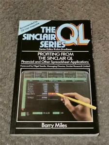 PROFITING FROM THE SINCLAIR QL PAPERBACK - FAST FREE UK POST