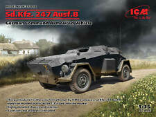 ICM 35110 Sd.kfz. 247 Ausf.b German Command Armoured Vehicle Plastic Kit 1/35