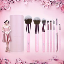 Free Ship 8Pcs Pink Makeup Brushes Sets Professional Cosmetic Beauty Tools MSQ