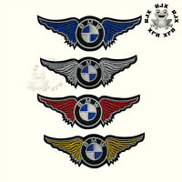 BMW Wings Car Brand Patch Iron On Patch Sew On Embroidered Patch