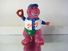 Barney the Purple Dinosaur Baseball Player Figurine